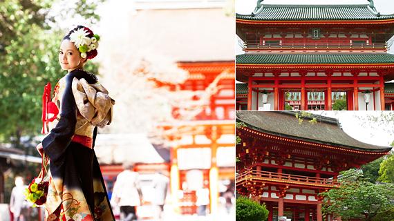 140年以上もの歴史を持つ、老舗料亭旅館の格式を受け継いだ国の登録有形文化財や重要伝統的建造物群保存地区に大正期から佇む邸宅など、本物志向のカップルを魅了する
